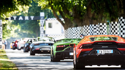 Goodwood Festical of Speed Hospitality