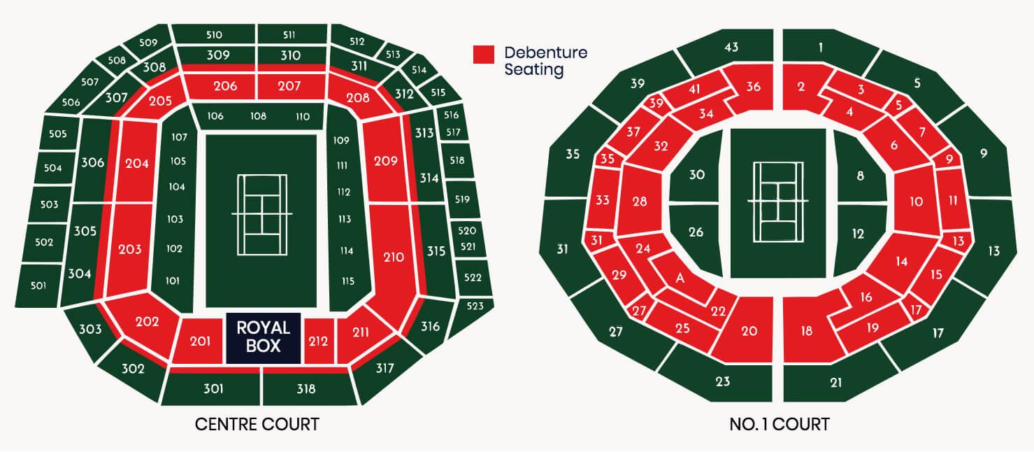 Wimbledon Hospitality Seating